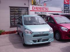 沖縄の中古車 ダイハツ ミライース 車両価格 88万円 リ済込 平成29年 6K ライトブルー