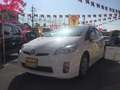 沖縄の中古車 トヨタ プリウス 車両価格 118万円 リ済別 平成23年 6.0万K スーパーホワイトII