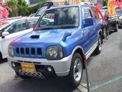 沖縄の中古車 スズキ ジムニー 車両価格 63万円 リ済別 平成13年 8.6万K ブルーII