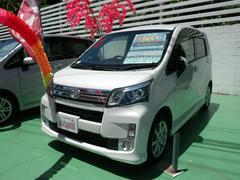 沖縄の中古車 ダイハツ ムーヴ 車両価格 84万円 リ済込 平成25年 6.6万K パール