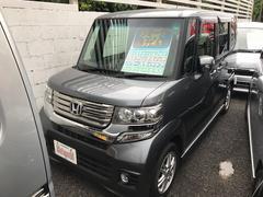 沖縄の中古車 ホンダ N BOXカスタム 車両価格 98万円 リ済込 平成24年 7.1万K グレー