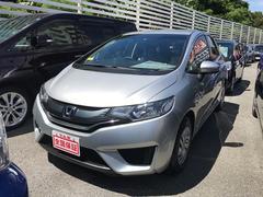 沖縄の中古車 ホンダ フィット 車両価格 69万円 リ済込 平成26年 8.1万K シルバー