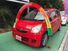 沖縄の中古車 ダイハツ ミラ 車両価格 42万円 リ済込 平成21年 6.1万K レッド