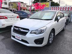 沖縄の中古車 スバル インプレッサスポーツ 車両価格 108万円 リ済込 平成25年 5.1万K サテンホワイトパール