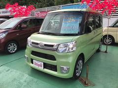 沖縄の中古車 ダイハツ タント 車両価格 113万円 リ済込 平成27年 2.0万K Lグリーン