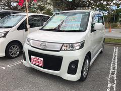 沖縄の中古車 マツダ AZワゴンカスタムスタイル 車両価格 65万円 リ済込 平成23年 5.6万K パール