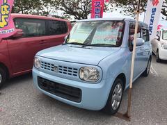 沖縄の中古車 スズキ アルトラパン 車両価格 62万円 リ済込 平成22年 7.9万K ライトブルー