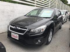 沖縄の中古車 スバル インプレッサスポーツ 車両価格 85万円 リ済込 平成24年 7.5万K ブラック
