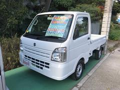沖縄の中古車 スズキ キャリイトラック 車両価格 84万円 リ済込 平成26年 3.8万K ホワイト
