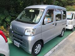 沖縄の中古車 ダイハツ ハイゼットカーゴ 車両価格 73万円 リ済込 平成21年 6.4万K シルバー