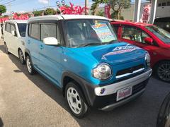 沖縄の中古車 スズキ ハスラー 車両価格 104万円 リ済込 平成26年 2.9万K ライトブルーII