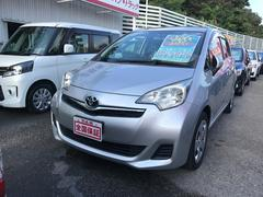 沖縄の中古車 トヨタ ラクティス 車両価格 78万円 リ済込 平成24年 3.2万K シルバー
