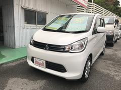 沖縄の中古車 三菱 eKワゴン 車両価格 63万円 リ済込 平成25年 5.1万K ホワイトパール