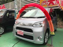 沖縄の中古車 ダイハツ ムーヴ 車両価格 69万円 リ済込 平成24年 7.7万K シルバー
