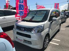 沖縄の中古車 ダイハツ ムーヴ 車両価格 93万円 リ済込 平成27年 5.5万K パールホワイト