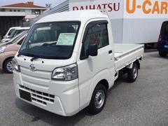 沖縄の中古車 ダイハツ ハイゼットトラック 車両価格 83万円 リ済別 平成27年 0.4万K ホワイト