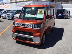 沖縄の中古車 ダイハツ ウェイク 車両価格 133万円 リ済別 平成28年 0.3万K トニコオレンジ