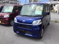 沖縄の中古車 ダイハツ タント 車両価格 129万円 リ済別 平成28年 0.3万K ディープブルークリスタルマイカ