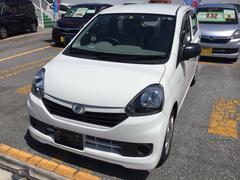 沖縄の中古車 ダイハツ ミライース 車両価格 50万円 リ済別 平成25年 3.3万K ホワイト