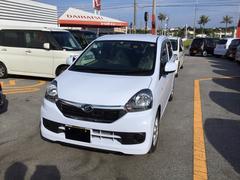 沖縄の中古車 ダイハツ ミライース 車両価格 104万円 リ済別 平成29年 0.3万K スカイブルー