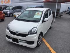 沖縄の中古車 ダイハツ ミライース 車両価格 89万円 リ済別 平成28年 0.2万K パールホワイト