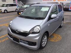 沖縄の中古車 ダイハツ ミライース 車両価格 99万円 リ済別 平成28年 9K ブライトシルバー