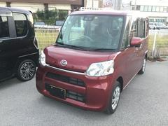 沖縄の中古車 ダイハツ タント 車両価格 130万円 リ済別 平成29年 1.5万K ファイヤークォーツレッドM