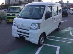 沖縄の中古車 ダイハツ ハイゼットカーゴ 車両価格 98万円 リ済別 平成29年 8K ホワイト