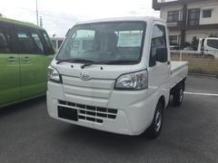 沖縄の中古車 ダイハツ ハイゼットトラック 車両価格 92万円 リ済別 平成29年 6K ホワイト