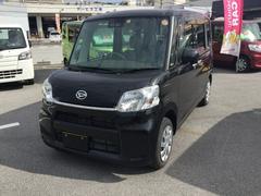 沖縄の中古車 ダイハツ タント 車両価格 130万円 リ済別 平成29年 1.3万K ブラックM