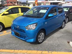 沖縄の中古車 ダイハツ ミライース 車両価格 106万円 リ済別 平成29年 0.5万K スプラッシュブルー