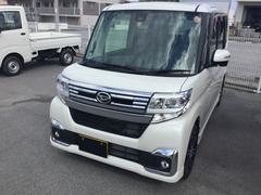 沖縄の中古車 ダイハツ タント 車両価格 165万円 リ済別 平成28年 0.4万K パールホワイト