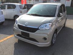 沖縄の中古車 ダイハツ ブーン 車両価格 130万円 リ済別 平成28年 0.2万K ベージュ