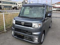 沖縄の中古車 ダイハツ ウェイク 車両価格 153万円 リ済別 平成29年 24K タングステングレーM