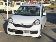 沖縄の中古車 ダイハツ ミライース 車両価格 92万円 リ済別 平成29年 0.5万K スカイブルー