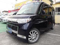 沖縄の中古車 ダイハツ タント 車両価格 55万円 リ済込 平成20年 9.7万K ダークブルー