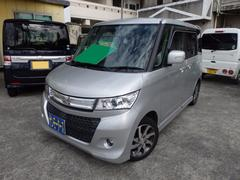 沖縄の中古車 スズキ パレットSW 車両価格 73万円 リ済込 平成22年 4.7万K シルバーM