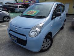 沖縄の中古車 スズキ アルト 車両価格 25万円 リ済込 平成22年 13.0万K ライトブルー
