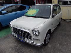 沖縄の中古車 ダイハツ ミラジーノ 車両価格 19万円 リ済込 平成12年 11.7万K パールホワイト