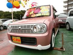沖縄の中古車 スズキ アルトラパン 車両価格 75万円 リ済込 平成23年 7.0万K ピンクII