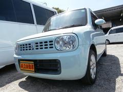 沖縄の中古車 スズキ アルトラパン 車両価格 52万円 リ済込 平成22年 9.5万K Lグリーン