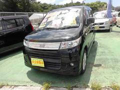 沖縄の中古車 スズキ ワゴンRスティングレー 車両価格 53万円 リ済込 平成22年 8.9万K ブラック