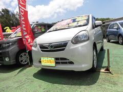 沖縄の中古車 ダイハツ ミライース 車両価格 53万円 リ済込 平成24年 9.2万K パール