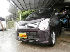 沖縄の中古車 スズキ ワゴンR 車両価格 63万円 リ済込 平成24年 8.1万K パープル