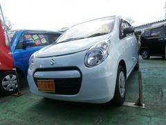 沖縄の中古車 スズキ アルトエコ 車両価格 39万円 リ済込 平成24年 7.5万K リーフホワイト
