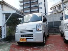 沖縄の中古車 スズキ エブリイ 車両価格 43万円 リ済込 平成23年 10.6万K シルバー