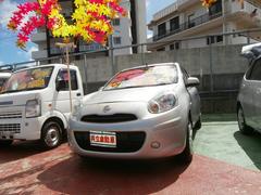 沖縄の中古車 日産 マーチ 車両価格 64万円 リ済込 平成24年 1.7万K シルバー