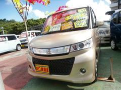 沖縄の中古車 スズキ パレットSW 車両価格 60万円 リ済込 平成22年 7.5万K ゴールド