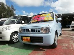 沖縄の中古車 スズキ アルトラパン 車両価格 55万円 リ済込 平成23年 8.6万K ライトブルー