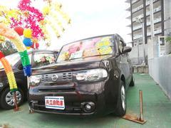 沖縄の中古車 日産 キューブ 車両価格 55万円 リ済込 平成24年 9.7万K ブラウン